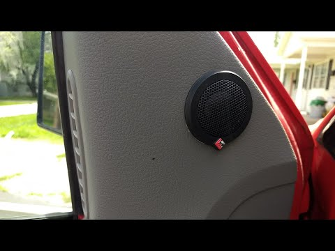 Rockford Fosgate Tweeter Placement / Install Tips Decisions