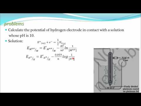 Problem on nernst equation&emf of cell (Electrochemistry part 33 for CBSE class 12 JEE IIT)
