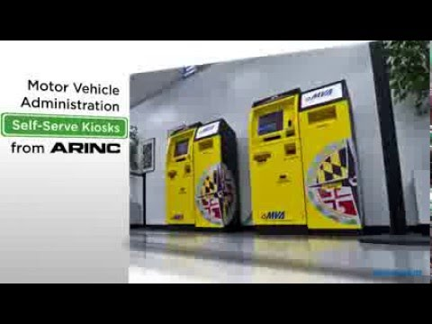 Maryland MVA Self-Service DMV Kiosks