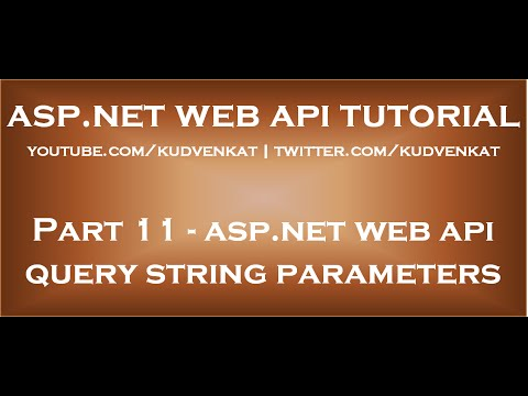 ASP NET Web API query string parameters