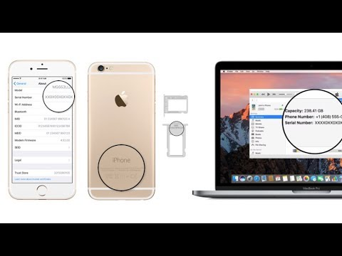 5 Ways & Places To Find All iPhone,iPad & iPod Serial Number & IMEI - Apple 360