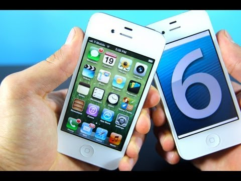 iOS 6 Review in 3 Minutes! Official 6.0 Update for iPhone 5/4S/4/3Gs iPod Touch 5G/4G & iPad 3/2