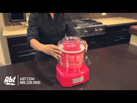 Cuisinart Frozen Yogurt-Ice Cream Maker ICE-21R - Overview
