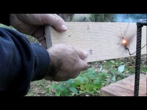 homemade LASER powerful burning 80 w carbon dioxide CO2