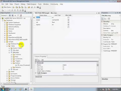 11-How to create an index for a column in a table in a SQL Server database