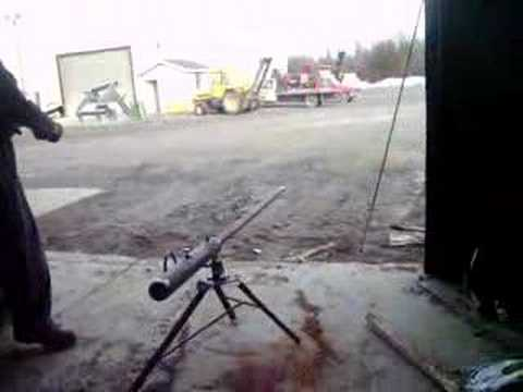 Oxy Acetylene Cannon