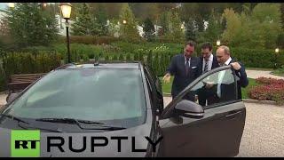Russia: Putin test-drives the new Lada Vesta in Sochi