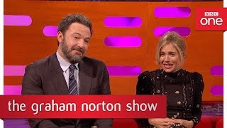 """How many times can one man climax?"" - The Graham Norton Show 2017: Episode 13 - BBC One"