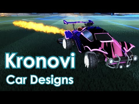 KRONOVI CAR COLORS AND DESIGNS - Pro Player Designs