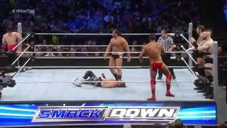 Dolph Ziggler, Neville & The Lucha Dragons vs. The League of Nations: SmackDown, February 25, 2016