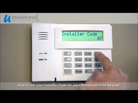 Honeywell | How to Set Your Installer Code