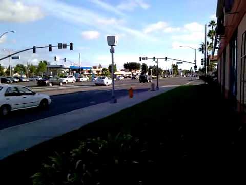 Red Light Camera on Brookhurst St. / Chapman Ave.