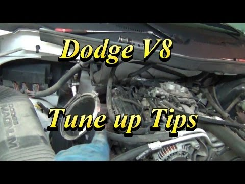 Dodge V8 Tune Up Tips