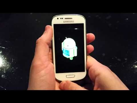 Reset Samsung Galaxy S3 Mini i8190 (Hard Reset)