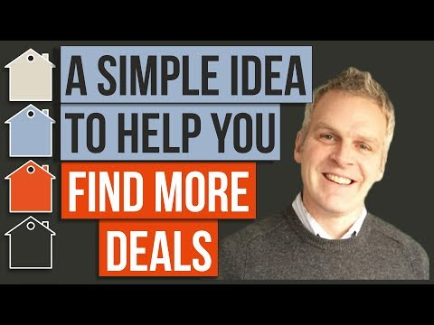 A Simple Idea To Help You Find More Property Deals | 60 Second Buy To Let Property Investing Tips