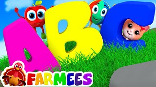 The Phonics Song   ABC Song   Learn abc   Learning abc   abc songs for kids by Farmees S02E157