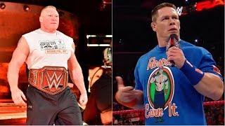 2018 WWE Royal Rumble plans, Brock Lesnar match, John Cena return