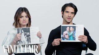 Lucy Hale and Tyler Posey Explain Their Instagram Photos | Vanity Fair