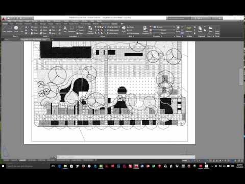 AutoCAD SetUp and Export for Photoshop