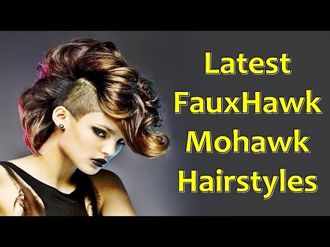 Latest FauxHawk Mohawk Hairstyles for African American Women