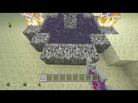 Minecraft Xbox - How to Hatch the Ender Dragon Egg in Minecraft Xbox One