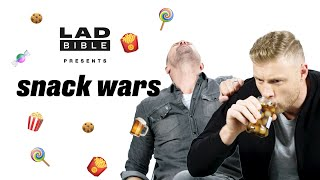Freddie Flintoff drinks pickled onion juice out of the jar 🤮 | Snack War: UK v China