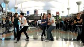 Denver Airport Swing Dance Flash Mob