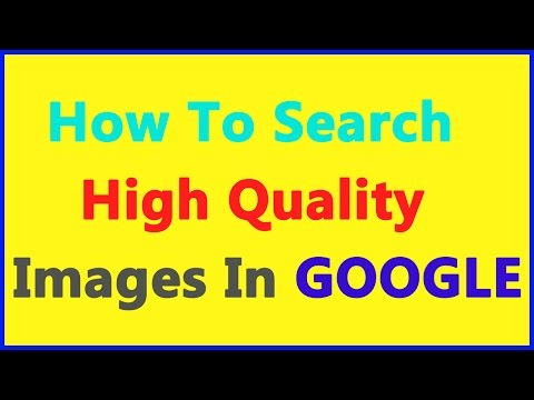 How To Search High Quality Images In GOOGLE... || Internet Tips