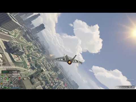 Gta 5 online Try hard in Jet