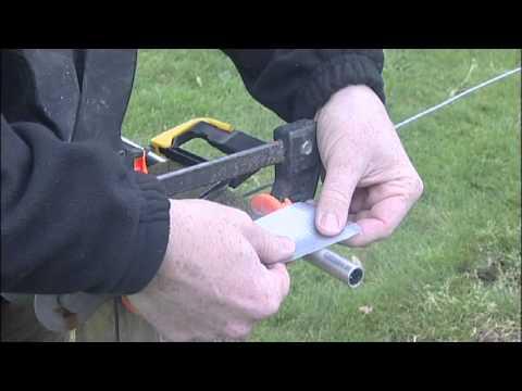 How to safely cut Aluminium tubing
