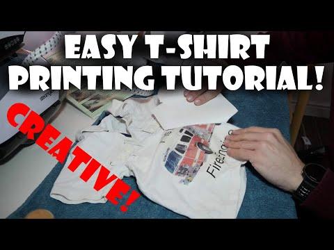 T-Shirt Transfer Printing Tutorial