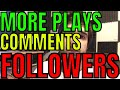 How To Gain More Plays Likes Comments And Followers On Sound