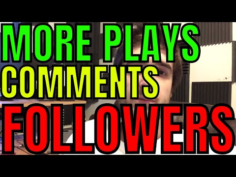 How to Gain More Plays, Likes, Comments, and Followers on SoundCloud (part 1)