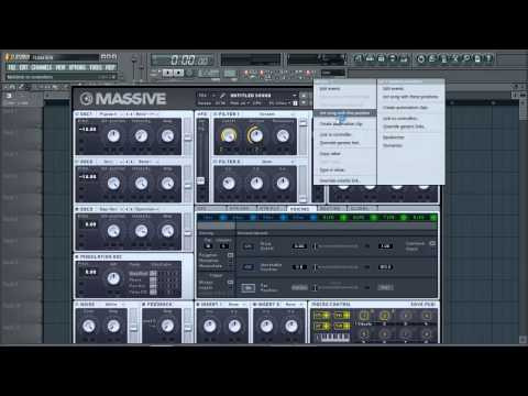 How to make a heavy wobble bass in massive