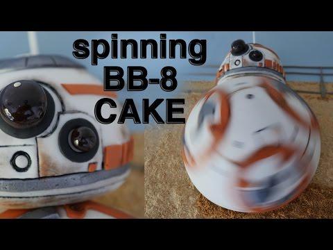 STAR WARS BB8 CAKE How To Cook That Ann Reardon BB 8 cake