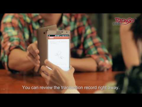 How to use Tap & Go mobile payment service