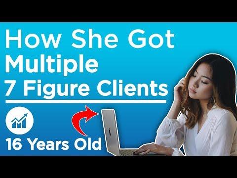 How She Got Multiple 7 Figure Marketing Clients (16 Years Old) - Jade Darmawangsa