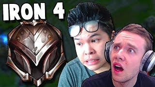 THIS IS WHAT IRON 4 LOOKS LIKE! ft. Redmercy | League of Legends