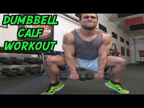 Intense 5 Minute Dumbbell Calf Workout