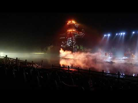 Three kingdoms horse show China