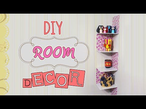 3 Minute Crafts / Diy Room Decor with Cardboard boxes / easy ideas for room organization