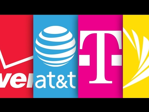 T-MOBILE, AT&T, VERIZON, SPRINT | NEW AVERAGE DOWNLOAD SPEEDS USING THE SAMSUNG GALAXY S8