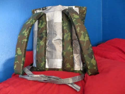 DIY Duct Tape Backpack
