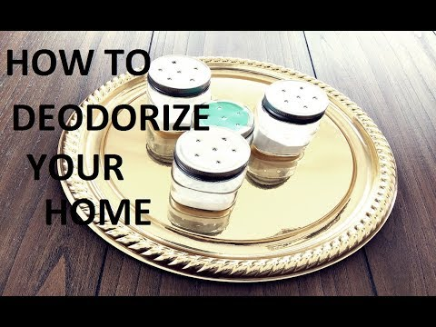 HOW TO MAKE YOUR HOME SMELL GOOD | DEODORIZE |NATURALLY