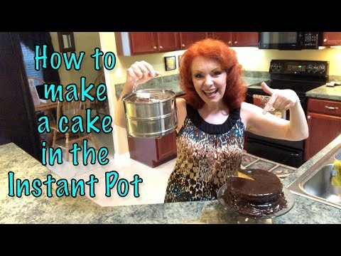 How to Make a Cake in the Instant Pot