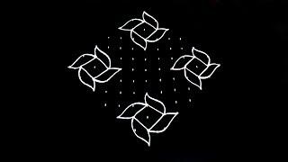 Top 10 Punto Medio Noticias Simple Kolam Designs With Dots Step By