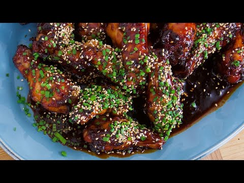 Rachael's Japanese Hot and Sticky Chicken Wings