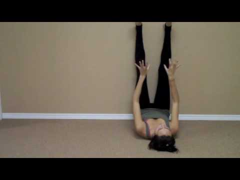 Legs up the wall INCREASE CIRCULATION and GAIN ENERGY FROM YOGA