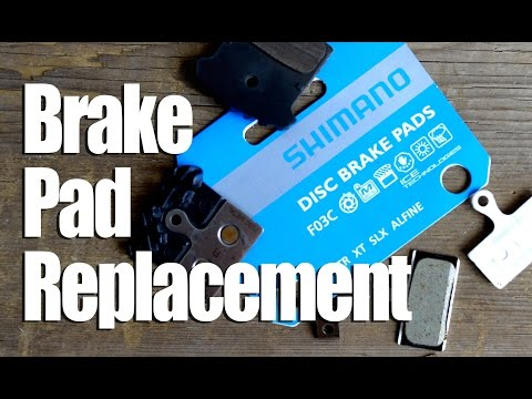 Shimano Disc Brake Pads - When and How to Replace