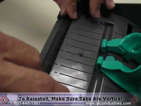 How to Replace Platen Roller on Zebra GK420T Label Printer